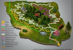 CHECK OUT OUR NEW 3D MAP OF THE MAKAWAO FOREST RESERVE TRAILS